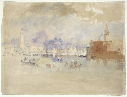 Venice from the Lagoon 1840 by Joseph Mallord William Turner 1775-1851