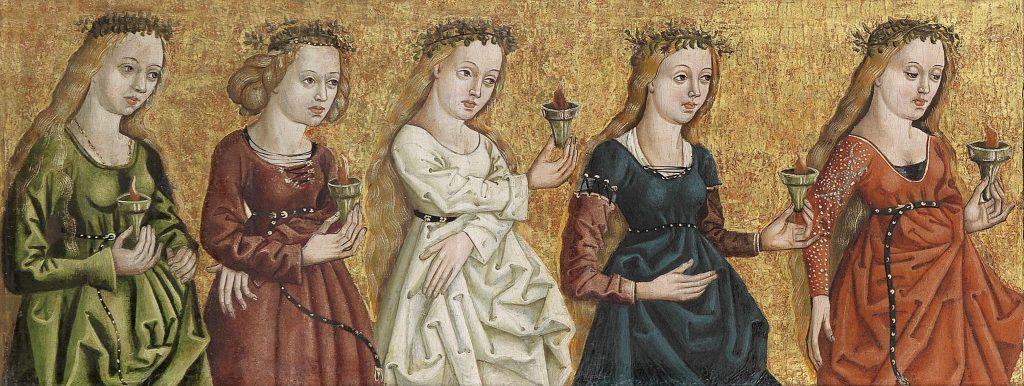 seven wise virgins