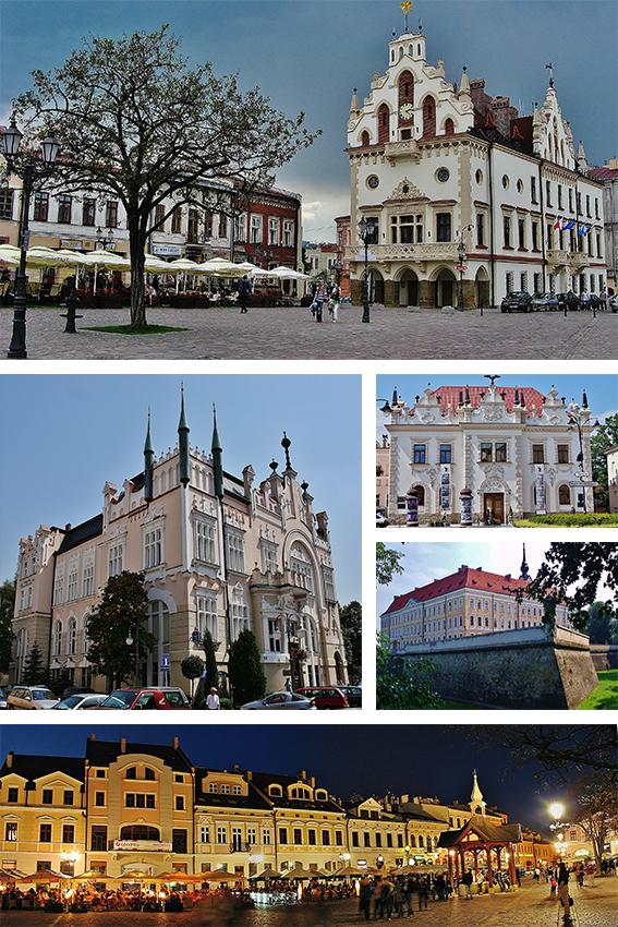 Collage_of_views_of_Rzeszów,_Poland